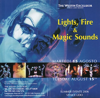 Lights, Fire & Magic Sounds